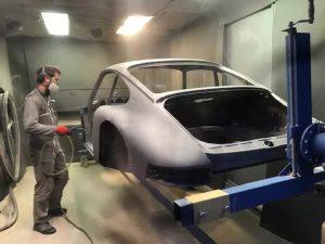 Sablage Porsche 911